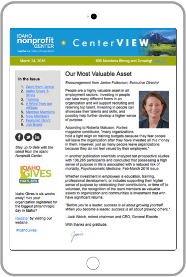 State Association Newsletter